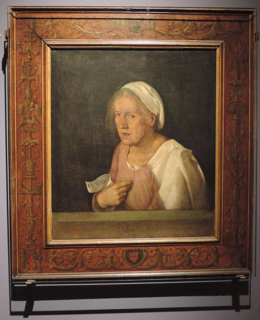 Giorgione, Old Woman