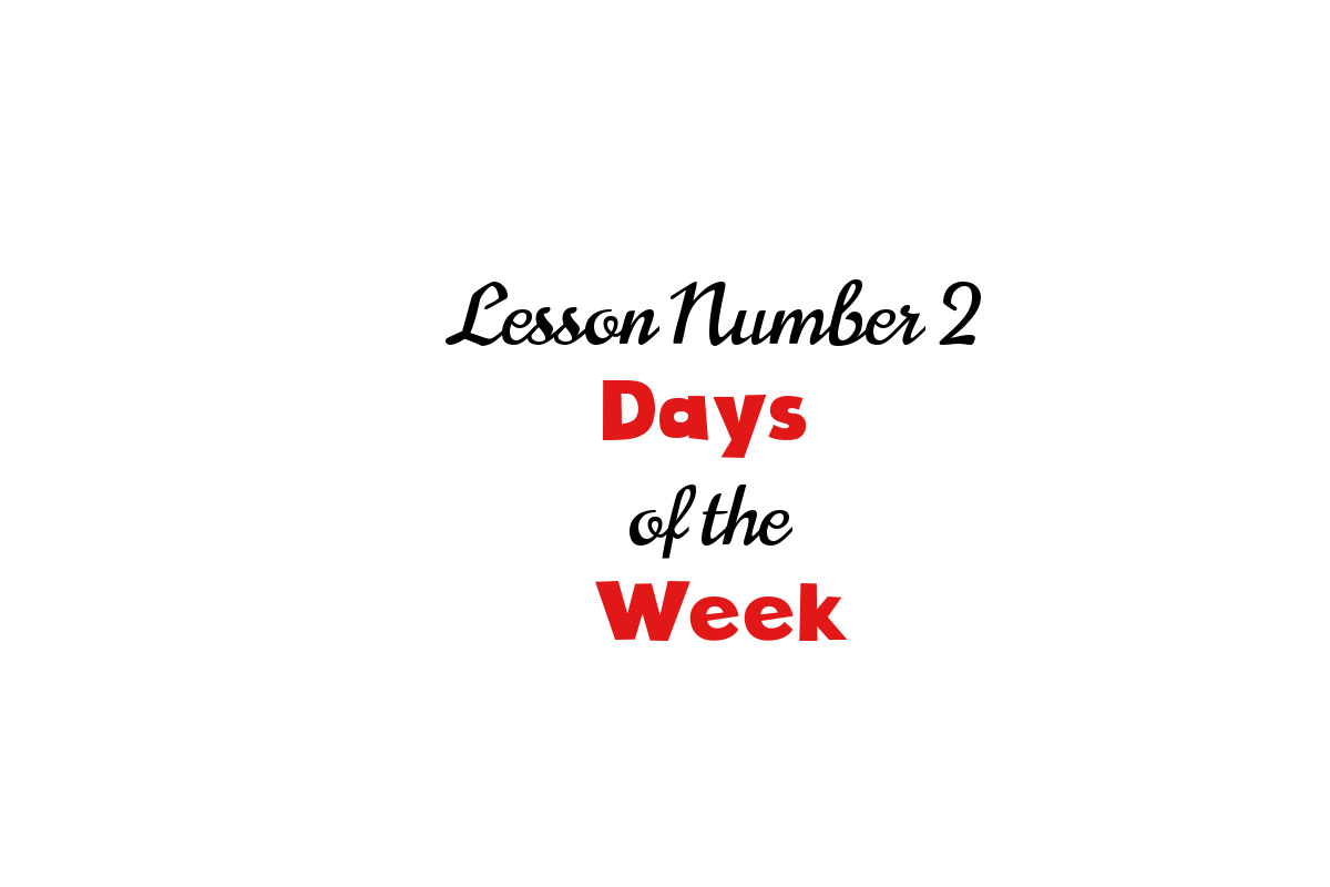 Days of the week in Italian - My Corner of Italy blog