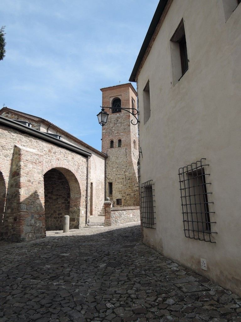 Holy Trinity Church in Arqua Petrarca