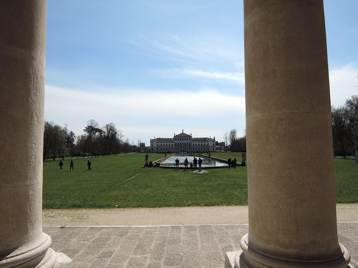 Villa Pisani from the Park