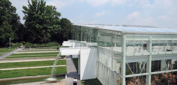 Greenhouses, Botanical Garden in Padua