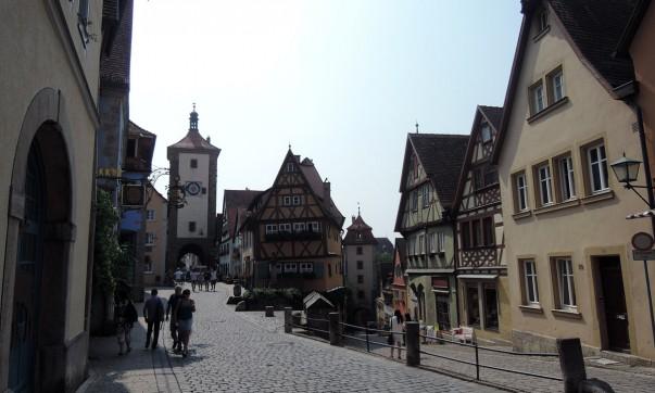 Rothenburg ob der Tauber, Romantic Road Itinerary