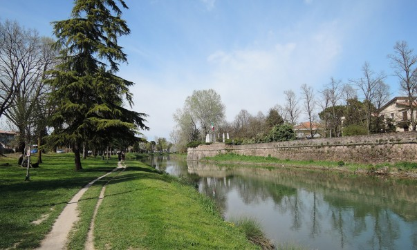 Torrione Ghirlanda, Padova Walls, via Goito