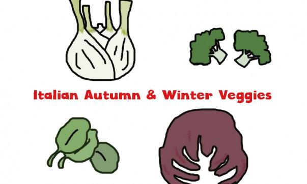 Italian Autumn and Winter Vegetables