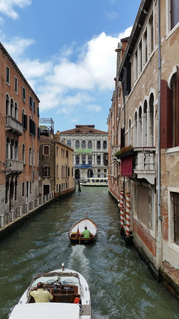 Canal and Facade of Ca' Pesaro