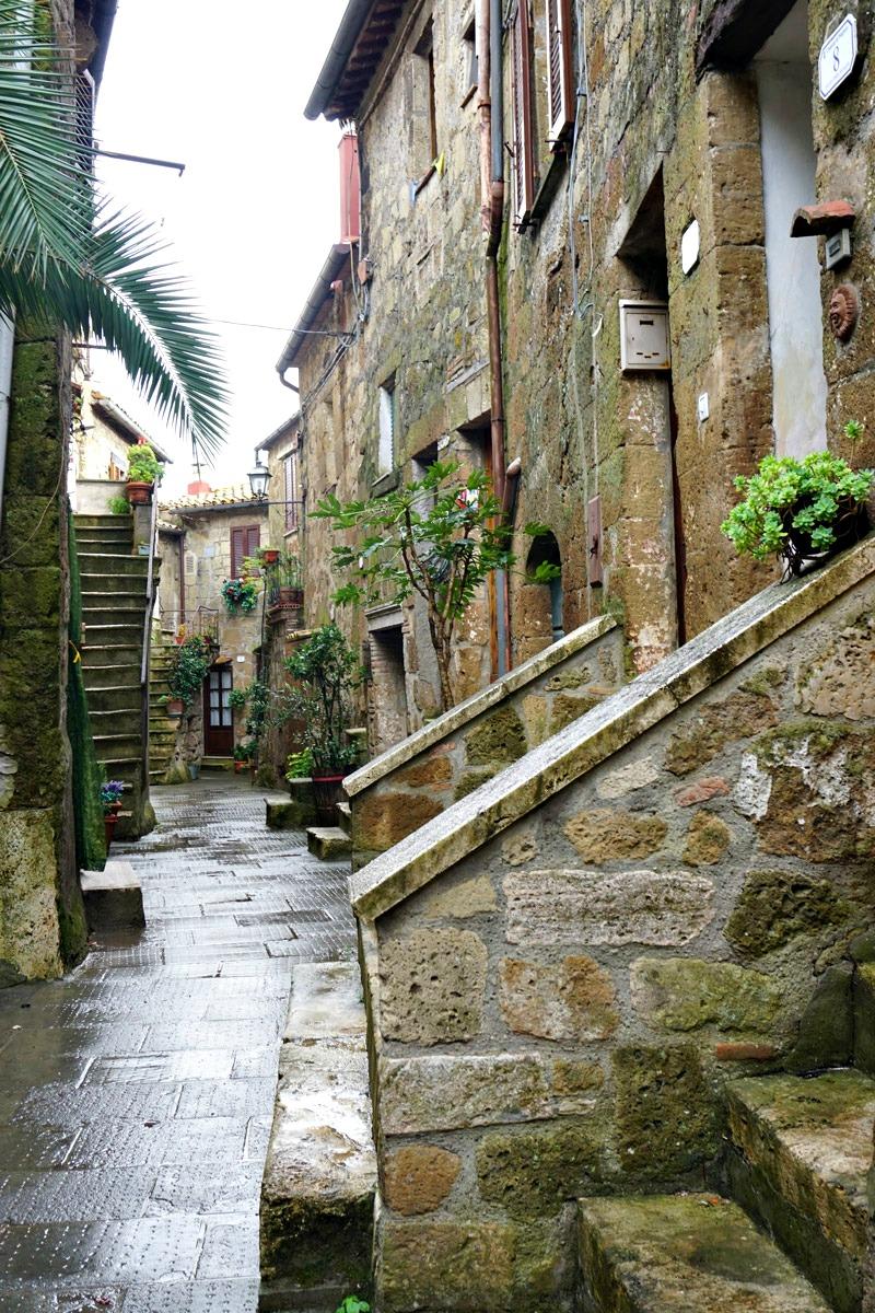 Street of Pitigliano