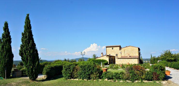 Agriturismo Il Macchione: beautiful accommodation in Pienza