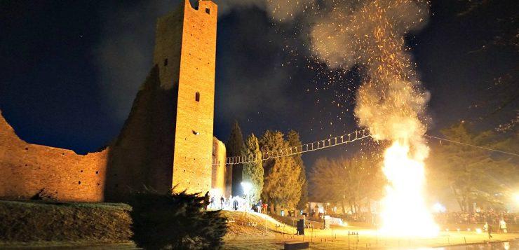 Befana bonfire in Noale: an ancient fascinating ritual