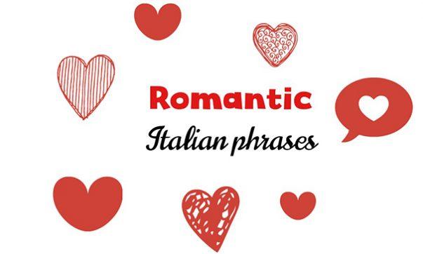 Romantic Italian phrases