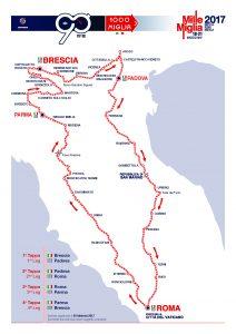 Mille Miglia Map foto ©www.1000miglia.eu
