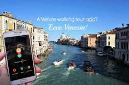 A Venice walking tour app, Ecco Venezia!