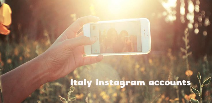 Instagram Italy accounts