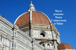 How to pronounce Firenze
