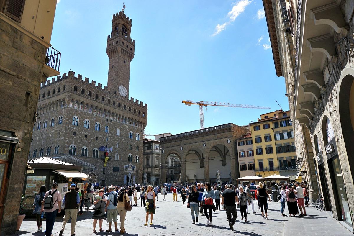 Piazza della Signoria, Florence in 1 day