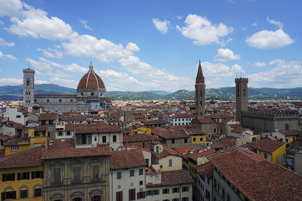 Florence Cathedral view, Florence in 1 day
