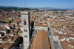 Panorama from Florence Cathedral Dome