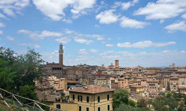 Siena from Orto dei Tolomei