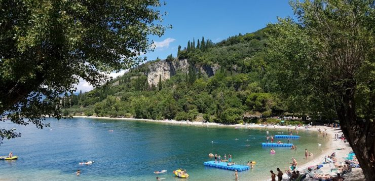 Punta San Vigilio beach: the best place for swimming in Lake Garda