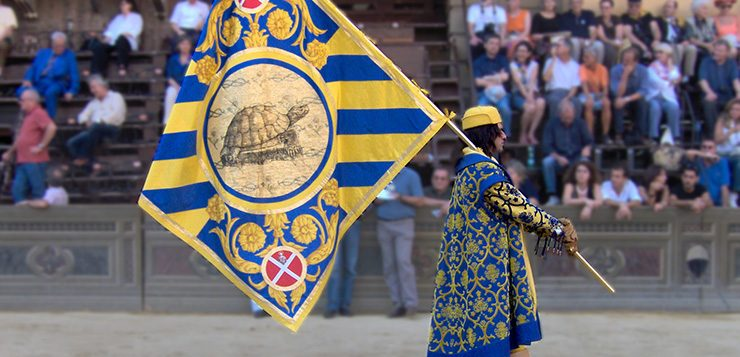 Palio di Siena behind the scenes: my visit to the Tartuca contrada