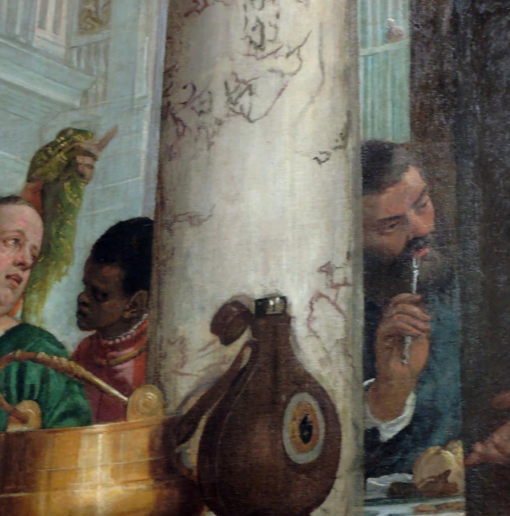 Feast in the House of Levi (detail)