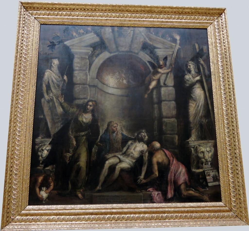 Titian, Pietà, Gallerie dell'Accademia
