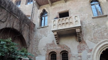 Balcony of Juliet's house