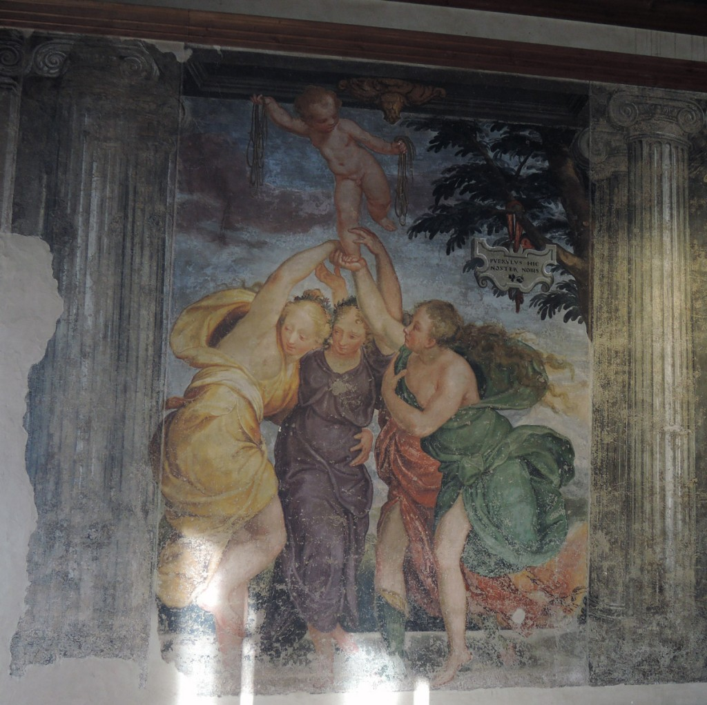 Fresco in the Guariento Room