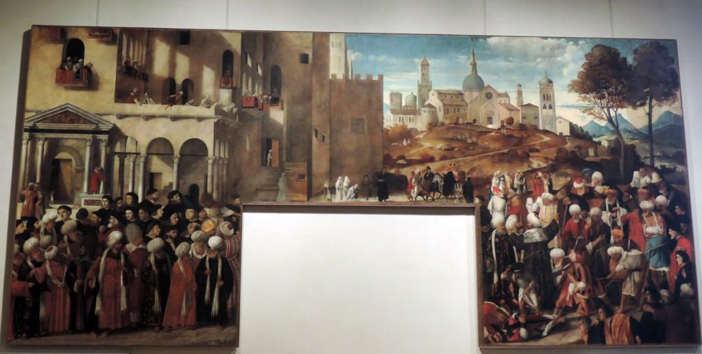 Bellini, Martirio di san Marco