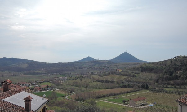 Panorama from the House of Petrarch