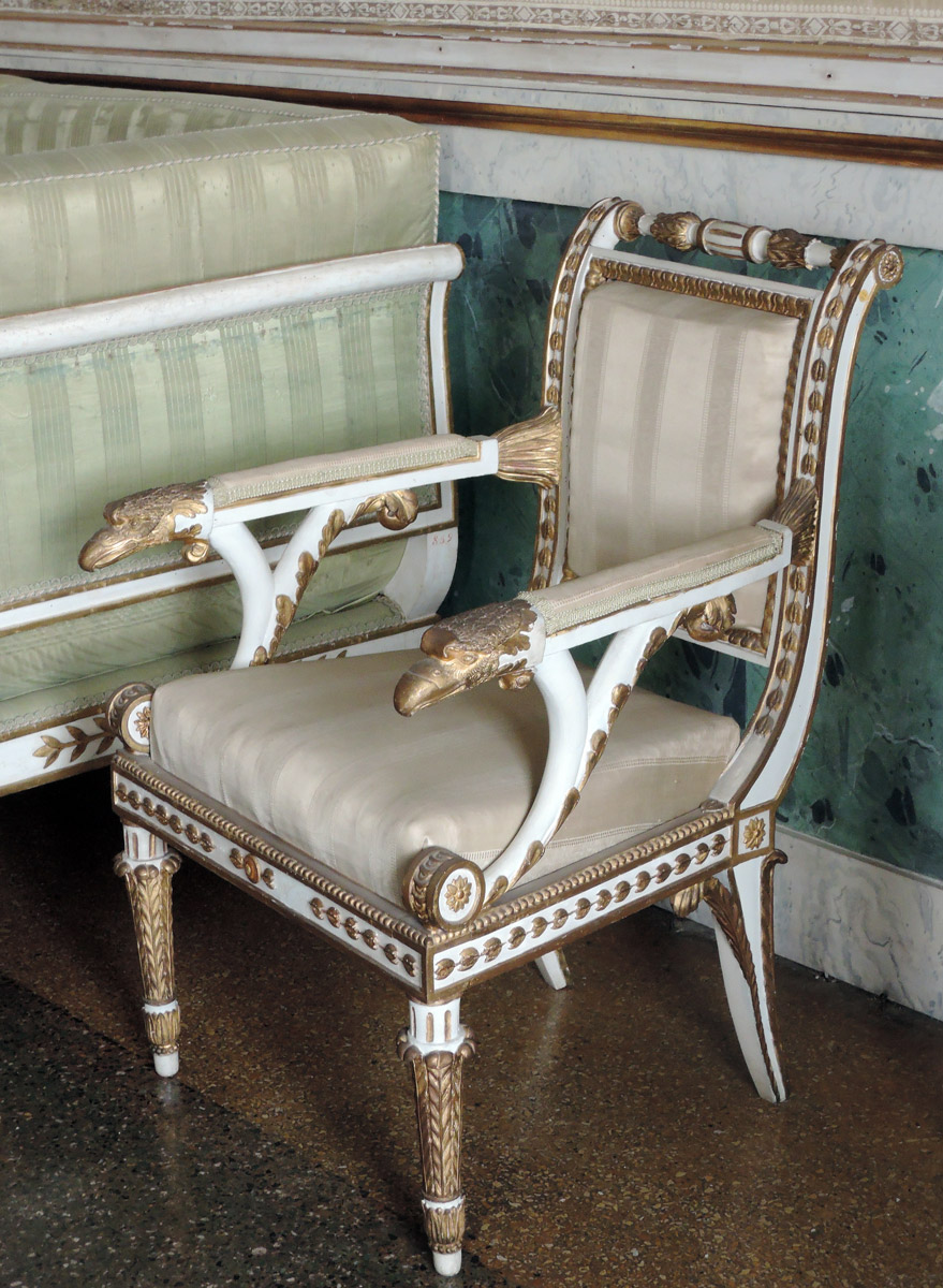 Napoleon's Eagles Chair