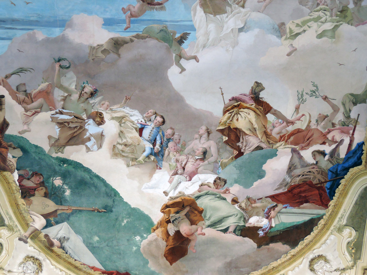 Tiepolo Fresco detail