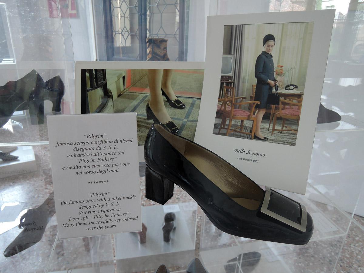 Catherine Deneuve's shoes by YSL in Belle de jour