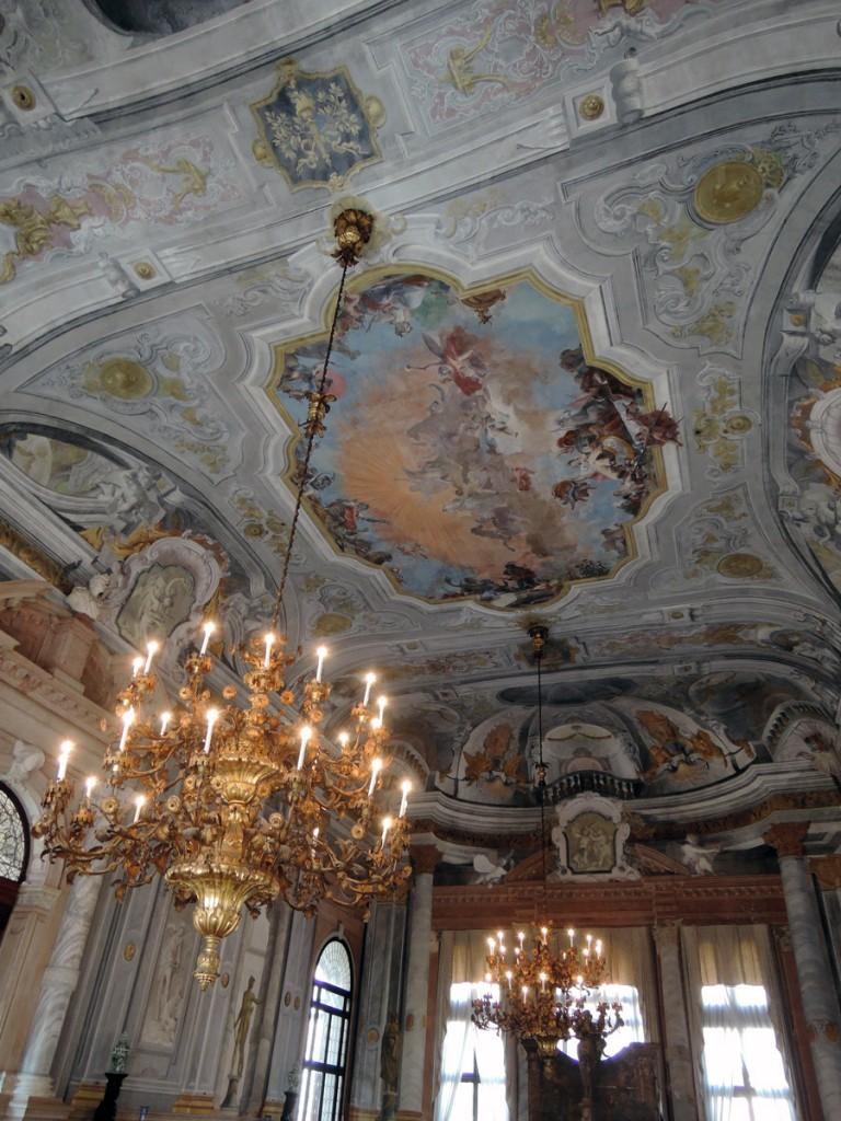 Balroom ceiling