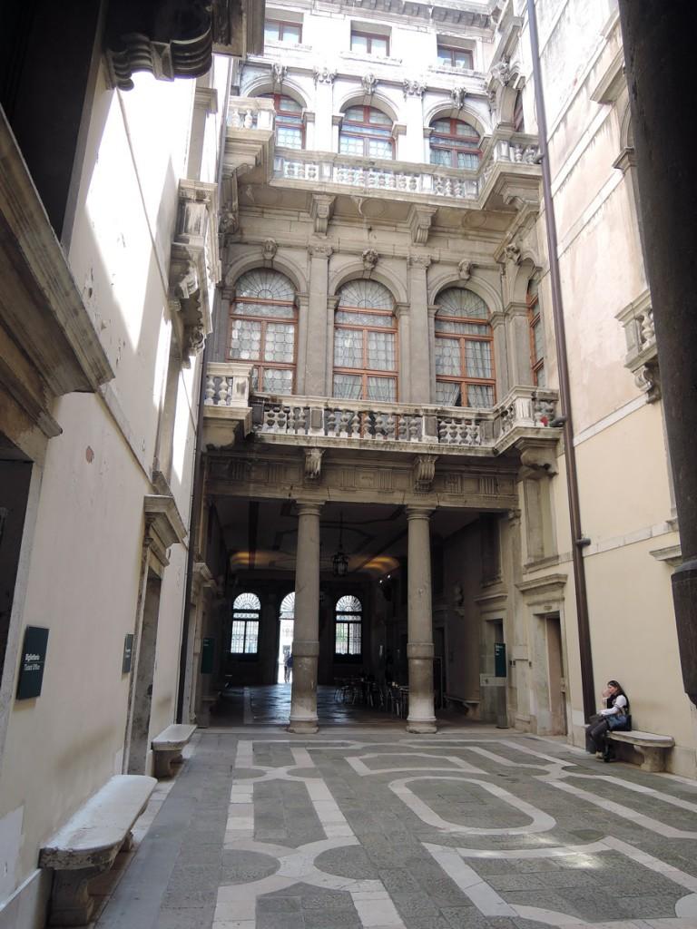Hall of Ca' Rezzonico