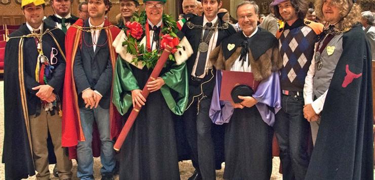 Goliardia, dean and professors. Image ©http://www.vvox.it