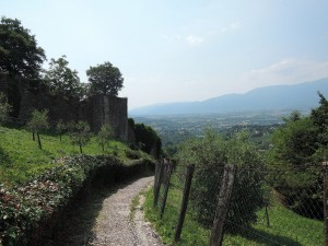 Descent from the Rocca