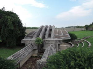 The so called Arcosolio, which hide the two tombs