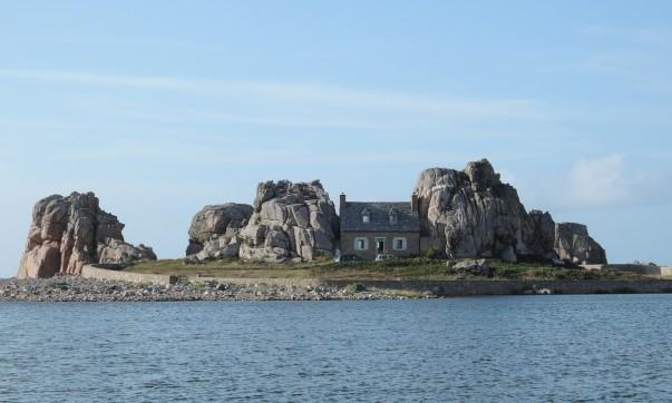 La maison entre les rochers, my Brittany tour