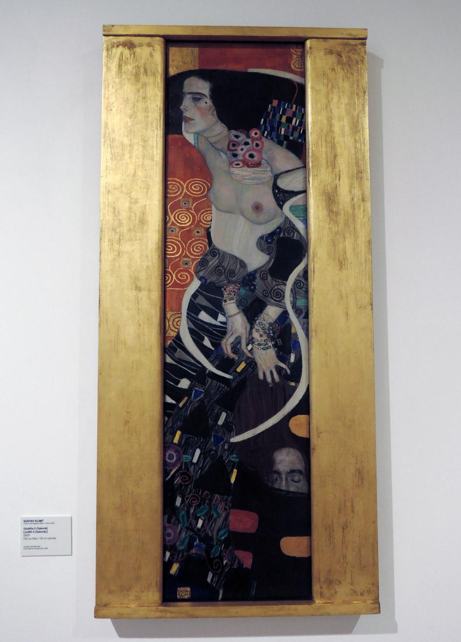 Judith, Klimt