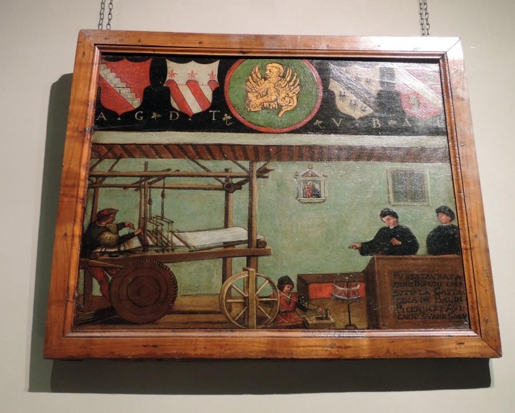 Testori de seda, Venetian Guilds