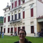 Me in front of Villa Angarano