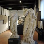 Statues and Silenus
