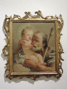 St. Joseph and Child by Tiepolo