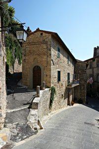Street, Sarteano Italy