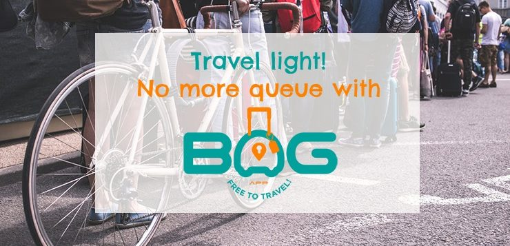 BagApp luggage storage app