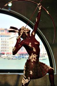 Damien Hisrt in Venice