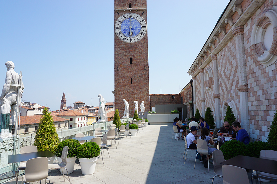 Basilica Palladiana in Vicenza: aperitivo on top of Palladio\'s ...