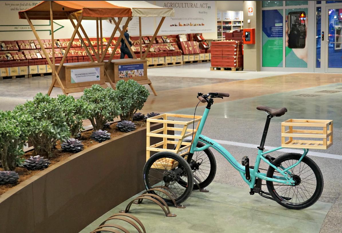 Fico Eataly World bike