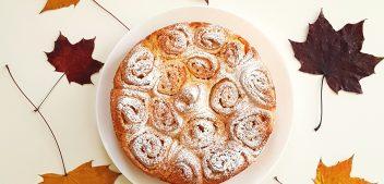 Torta delle Rose Mantovana, the Italian style rose cake
