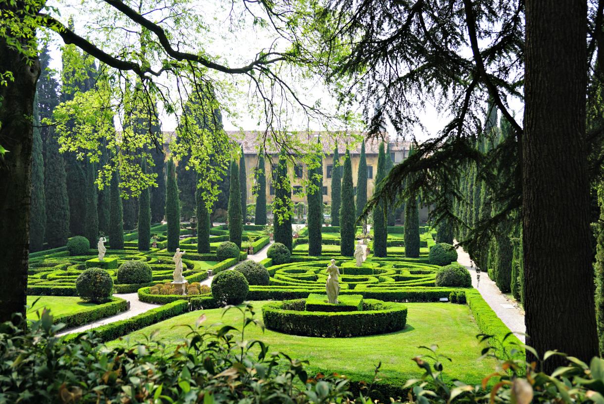 Giusti garden a green hidden gem in verona italy